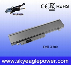 Replacement Dell x300 laptop battery