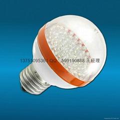 LED球泡灯(E27接口 60LED 3W 220V电压)