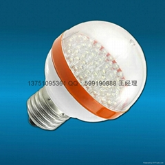 LED lights (ball bubble E27 interface 60LED 3W 220V voltage),