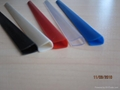 PVC slide binder/PVC document clip