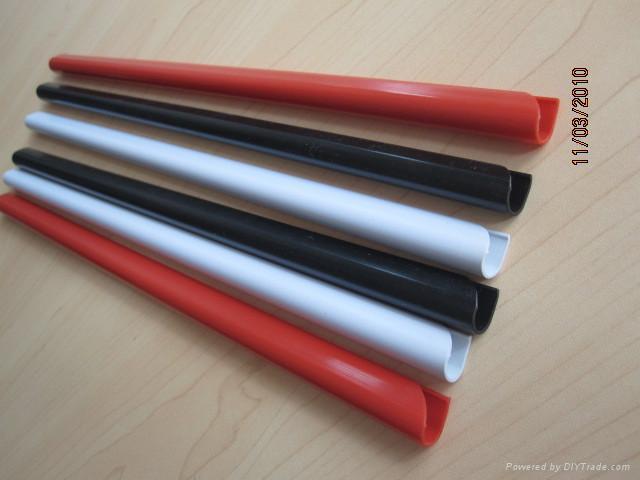 PVC slide binder/PVC document clip 2