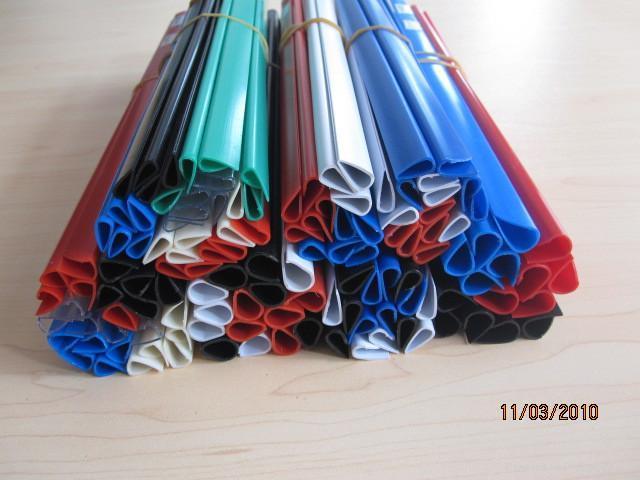 PVC slide binder/PVC document clip 3