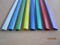 PVC slide binder/PVC document clip 5