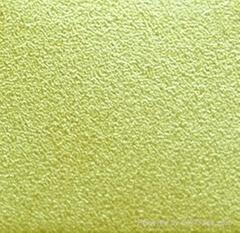彩色不鏽鋼噴砂(粗砂鍍香檳金)