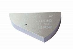 UT Miniature Angle Beam (ROMPAS) Calibration Test Block-Manufacturer