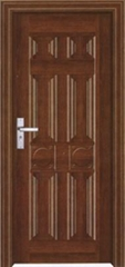Steel-wood interior door
