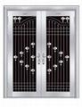 Stainless steel door series