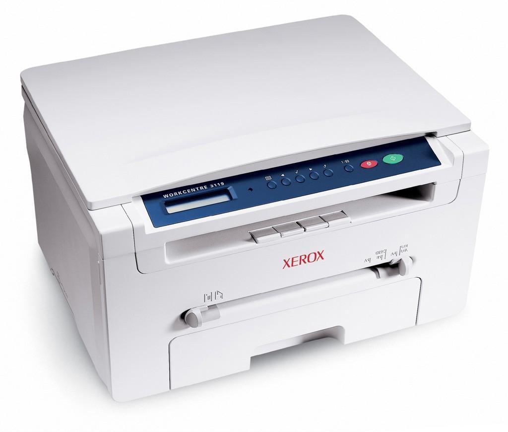 施乐 3119 黑白激光多功能一体机(打印/复印/扫描)  1