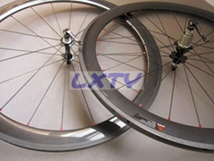 Carbon fiber road bike M50mm opening tires