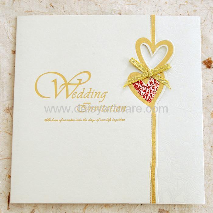 Ola S Blog Wedding Invitation Card With An Pretty Ribbon