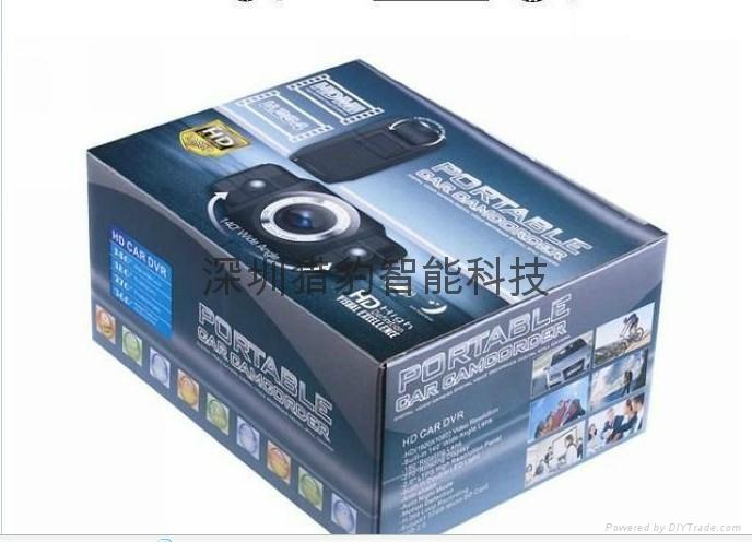 1080P Car Camera DVR car black boxes K2000 wholesale 5
