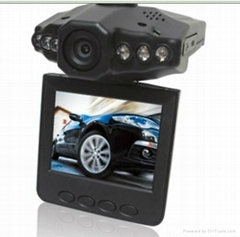 720p night vison car dvr camera with 140degree view angel