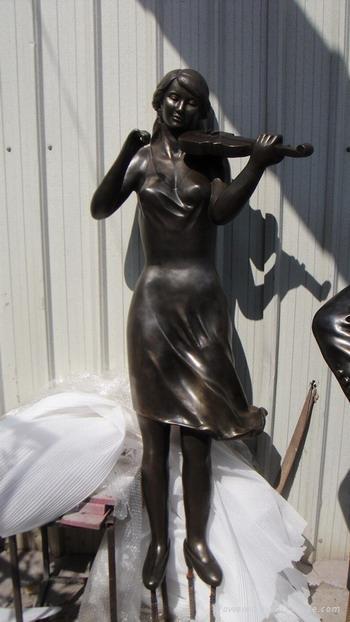 电镀雕塑 4