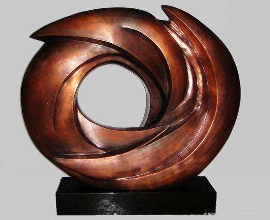 电镀雕塑 5