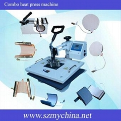 combo heat press machine (Hot Product - 2*)