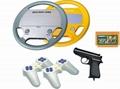 8bit Steering Wheel TV game