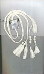 供應韓版精緻細款織帶或PU手工編織腰帶質超美特斯邦威