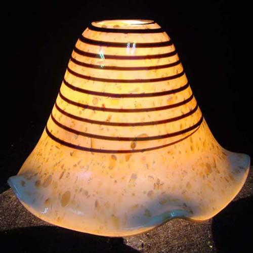 handblown glass/murano glass lamp shade HLN8955 - Biaget Glass ...