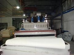 乳膠床墊烘乾生產設備