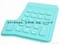 专业厂家硅胶数字键环保矽胶数位键盘时尚韩国潮流精品电脑配件 5