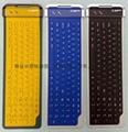 专业厂家104键B型矽胶键盘硅