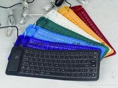 专业厂家85键矽胶键盘、硅胶软键盘时尚韩国潮流精品电脑配件