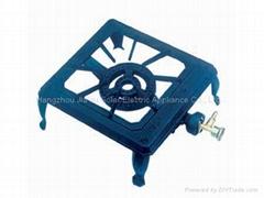 iron cast stove