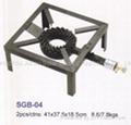cast iron gas cooker