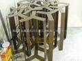 金屬鐵着色仿古發黑加工 2