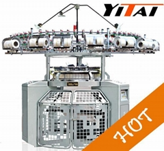 3-Thread Fleece Fabric Knitting Machine
