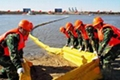 PVC oil spill containment boom