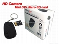 Mini DV keychain type HD camera