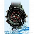 HD Waterproof Watch Camera
