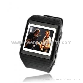 4GB 1.8 Inch Watch MP4/MP3 Player