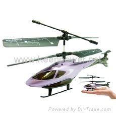 SYMA S100 Gyro Micro Palm Sized 3 Channel Indoor RC Helicopter Purple