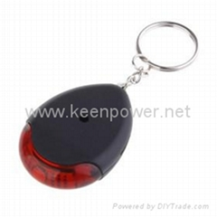 Whistle Controlled Anti-theft Anti-Lost Security Keychain (Sound+Light)
