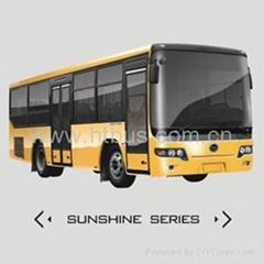 Medium CNG/Diesel 7.5m-8.5m 17-37 Seats Front Engine Bus