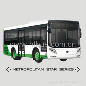8.5m-9.5m 18-37 Seats CNG/Diesel Most Welcome Medium Bus