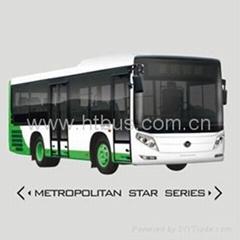 8.5m-9.5m 18-37 Seats CNG/Diesel Most Welcome Medium Bus