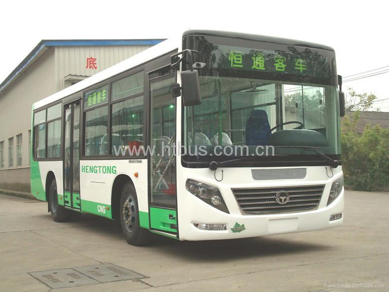8.5m-9.5m 18-37 Seats CNG/Diesel Medium Bus Rear Engine 1