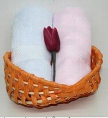 供应中高档竹纤维断档方巾
