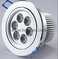High power 6w ceiling light
