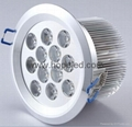 High power 12w ceiling light