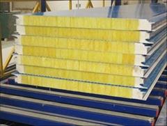 新型玻璃丝棉复合板
