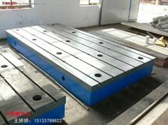 铸铁T型槽平台