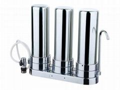 三级不锈钢净水机