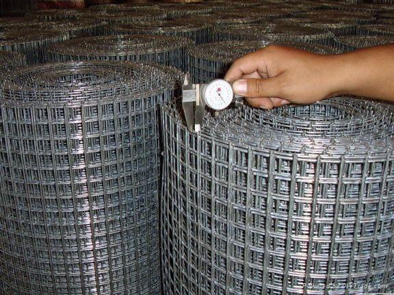 Galvanized Welded Wire Mesh Sheets Electro Galvanized Welded Wire