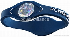 original silicone power balance holograms bracelet /wrist bands free shipping
