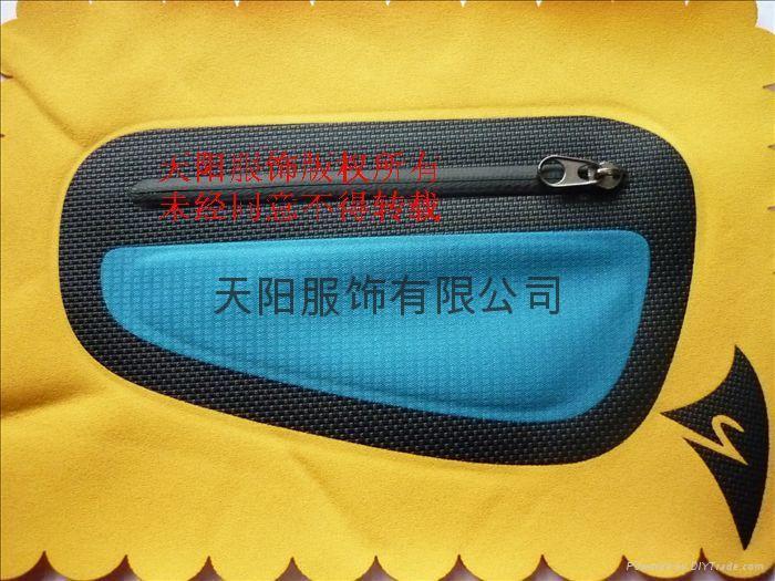 激光無縫壓膠口袋 1