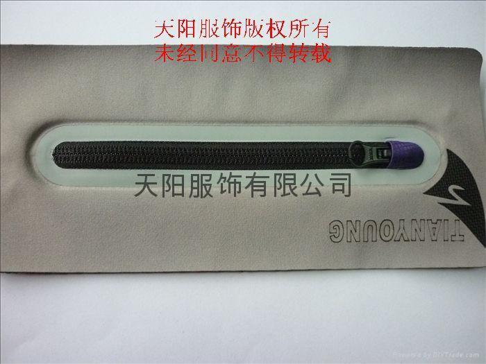 激光無縫壓膠口袋 3